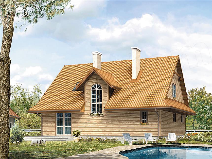 projekt-domu-drewnianego-polka