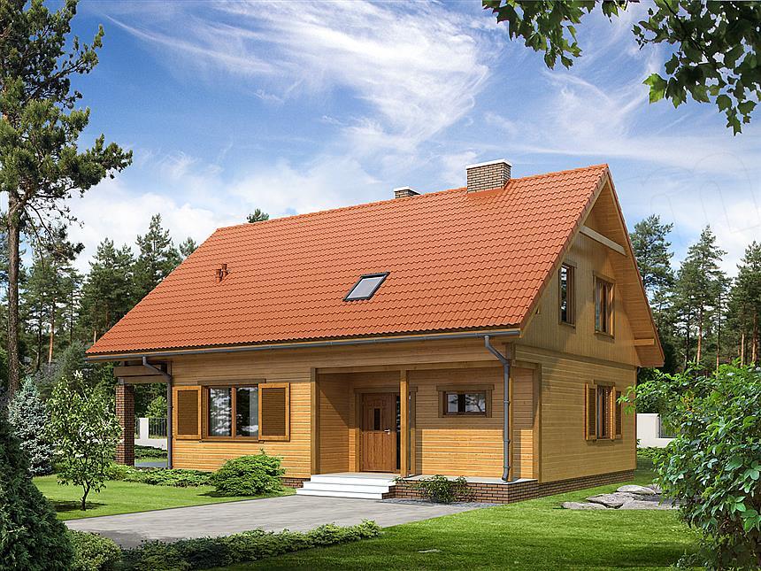 dom-drewniany-indygo-2-dr-s